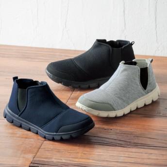 【格安-女性靴】(エアロップ)レディース超軽量サイドゴアシューズ