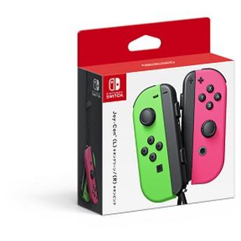Nintendo Switch Joy-Con (L) ネオングリーン/(R)ネオンピンク