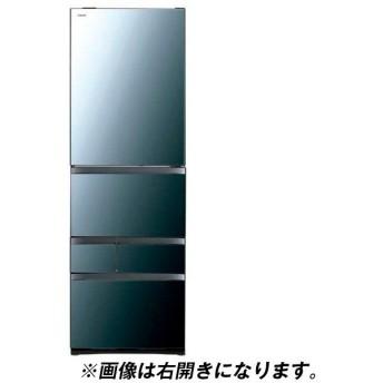 東芝 GR-R470GWL(XK) クリアミラー VEGETA 冷蔵庫(465L・左開き)