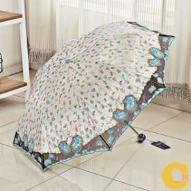 折り畳み傘 レディース日傘 紫外線遮蔽 遮光 遮熱 晴雨兼用 花柄 超撥水 紫外線対策 男女兼用 折りたたみ