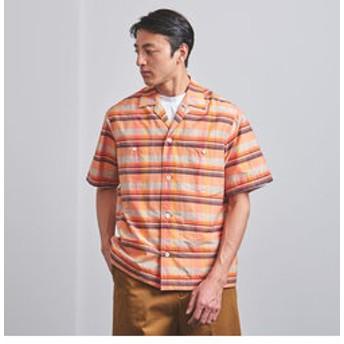 【UNITED ARROWS:トップス】<UNITED ARROWS> YONEZAWA ビッグチェック ショートスリーブシャツ