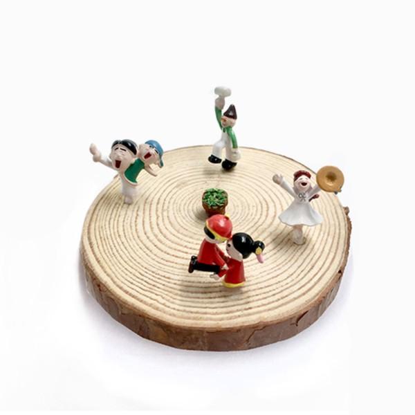 Green Pandora 手工繪製公仔 桌上型盆栽 迷你盆栽 生日禮物 辦公室小物 療癒盆栽