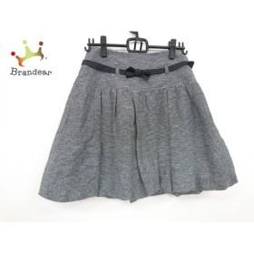 トゥービーシック TO BE CHIC スカート サイズ40 M レディース 美品 黒×白 新着 20190705