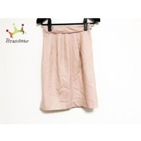 アプワイザーリッシェ Apuweiser-riche スカート サイズ0 XS レディース 美品 ベージュ ラメ   スペシャル特価 20191017