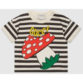 〔ベビー〕GUCCI マッシュルーム プリント Tシャツ