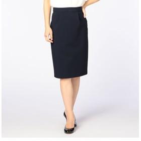 【NOLLEY'S:スカート】ドビーグログランタイトスカート