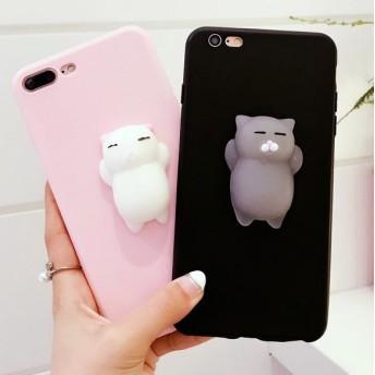 猫 iPhoneケース 送料無料 iPhone6/6s iPhone6plus/6splus iPhone7/8 iPhone7plus/8plus iPhoneX XS XR XSMax