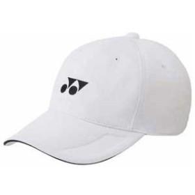 ヨネックス YO 40061 011 ユニセックス キャップ(ホワイト)YONEX[YO40061011]【返品種別A】