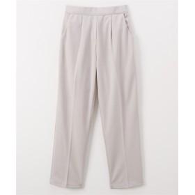 【布帛見え カセット服シリーズ】テーパードパンツ(セットアップ対応) (レディースパンツ),pants