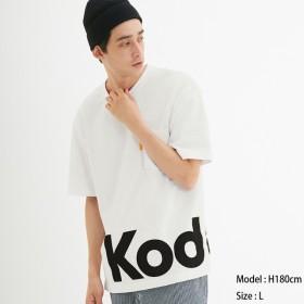 (GU)ビッグT(半袖)KODAK4 WHITE L