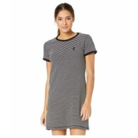 ハーレー レディース ワンピース トップス Rose Stripe Tee Dress Black