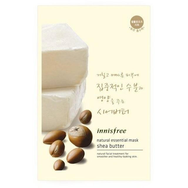 innisfree(イニスフリー)Essential mask shea butter ナチュラル エッセンシャルマスク シアバター対応 韓国コスメ/韓国 コスメ/韓コス/BBク