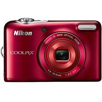 COOLPIXL32RD ニコン COOLPIX 2005万画素 光学5倍ズーム デジタルカメラ レッド COOLPIXL32RD