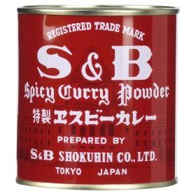 S & B カレー粉 84g