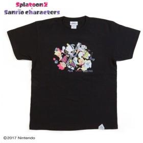 サンリオキャラクターズ×スプラトゥーン2 Tシャツ(ガール&ボーイ)