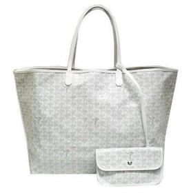 ゴヤール バッグ 定番 トートバッグ サンルイGM ホワイト 紙袋付き