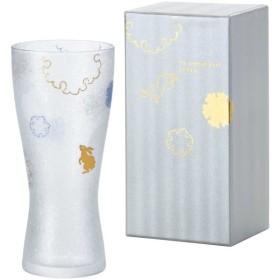 アデリア ビールグラス 310ml 雪兎 泡づくりプレミアムビアM 日本製 6688