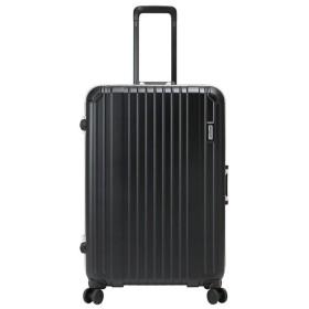 カバンのセレクション バーマス スーツケース 軽量 受託手荷物規定内 Lサイズ 88L BERMAS 60494 ヘリテージ ストッパー フレームタイプ ユニセックス ブラック フリー 【Bag & Luggage SELECTION】