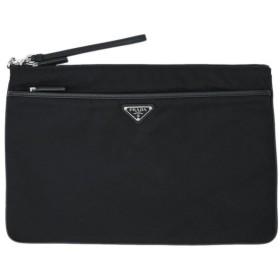 PRADA プラダ セカンドバッグ ストラップ付き ナイロン カーフ 2VN012