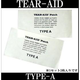 即出荷 TEAR-AID / ティアエイド TYPE-A 2枚セット リペア用品 サーフィン メール便 290円