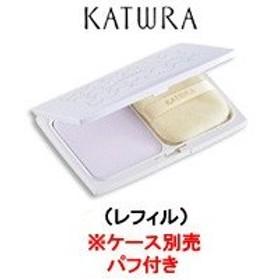 定形外は送料290円から  カツウラ化粧品 クリアベースパウダー レフィル 10g パフ付き