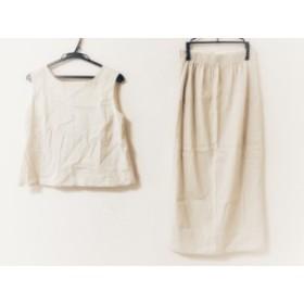 ジュエルチェンジズ Jewel Changes スカートセットアップ サイズ36 S レディース 美品 ベージュ【中古】20190705