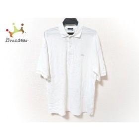 ラコステ Lacoste 半袖ポロシャツ サイズ3 L メンズ 白  値下げ 20190913