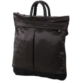 カバンのセレクション 吉田カバン ポーター フェード ヘルメットバッグ メンズ レディース B4 PORTER 188 02041 ユニセックス ブラック 在庫 【Bag & Luggage SELECTION】
