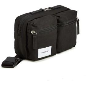 (Bag & Luggage SELECTION/カバンのセレクション)ウエストポーチ ウエストバッグ メンズ レディース サンドクヴィスト SANDQVIST ground おしゃれ ユニセックス サンドクビスト paul/ユニセックス ブラック 送料無料