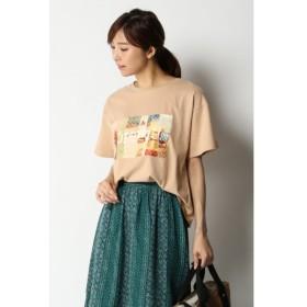 [マルイ] USAコットン転写Tシャツ/イッカ レディース(ikka)