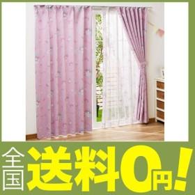 Sanrio(サンリオ 2級 遮光 遮熱 カーテン 2枚組 マイメロディ 幅100x135cm丈 SB-455 100220104901-01-01