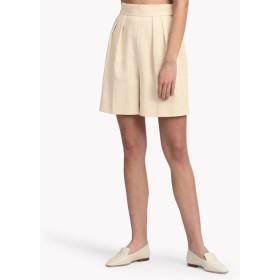 【Theory】Luxe Linen SZ Pleat Short