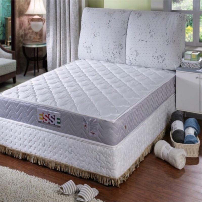 【ESSE御璽名床】抗菌防蹣精緻手工升級版獨立筒床墊(5x6.2尺雙人尺寸)