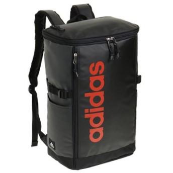 (Bag & Luggage SELECTION/カバンのセレクション)アディダス リュック スクエア ボックス型 31L A3 adidas 55483 軽量 撥水 チェストベルト付き 男女兼用 メンズ レディース/ユニセックス ブラック系2 送料無料