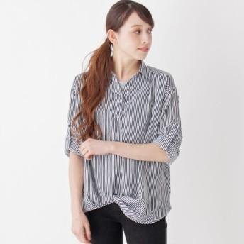 [マルイ]【セール】【2点セット】裾ねじりスキッパーシャツ+タンクトップ/シューラルー(レディス)(SHOOLARUE Ladies)