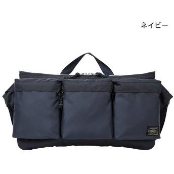 カバンのセレクション 吉田カバン ポーター フォース ウエストバッグ メンズ レディース ミリタリー A5 PORTER 855 05460 ユニセックス ネイビー フリー 【Bag & Luggage SELECTION】