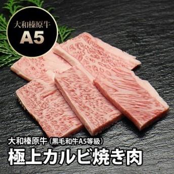 大和榛原牛(黒毛和牛A5等級)極上カルビ 焼肉用 100g 冷蔵便