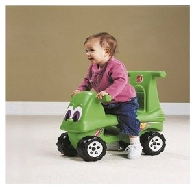 [メーカー直送品のためラッピング・代引き不可] STEP2 (ステップ2) ジッピーライダー [7129][大型玩具 大型遊具 ベビー おもちゃ 野外 屋内 室内 子供用]