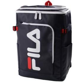 (Bag & Luggage SELECTION/カバンのセレクション)フィラ FILA リュック レディース メンズ スクエア 30L 通学 大容量 おしゃれ 女子 ピンク 高校 新作 7577/ユニセックス ネイビー系3
