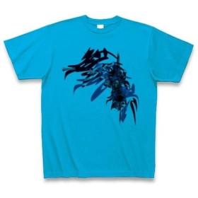 有効的異常症候群無界参前◆アート◆文字◆ロゴ◆ヘビーウェイト◆半袖◆Tシャツ◆ターコイズ◆各サイズ選択可