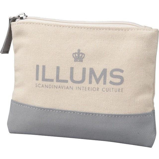 ILLUMS イルムス ロゴポーチ ポリエステル B-ILL15522