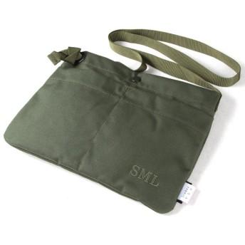 カバンのセレクション エスエムエル サコッシュ メンズ レディース A4 SML 906168S ユニセックス カーキ 在庫 【Bag & Luggage SELECTION】