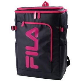 (Bag & Luggage SELECTION/カバンのセレクション)フィラ FILA リュック レディース メンズ スクエア 30L 通学 大容量 おしゃれ 女子 ピンク 高校 新作 7577/ユニセックス ネイビー系2