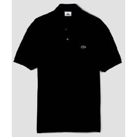 【正規品】LACOSTE(ラコステ)半袖リブカラーシャツ ノワール L1212X 099