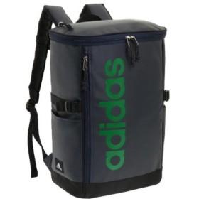 (Bag & Luggage SELECTION/カバンのセレクション)アディダス リュック スクエア 23L B4 adidas 55482 軽量 撥水 チェストベルト付き 男女兼用 メンズ レディース/ユニセックス ネイビー系1 送料無料