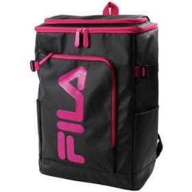 (Bag & Luggage SELECTION/カバンのセレクション)フィラ FILA リュック レディース メンズ スクエア 30L 通学 大容量 おしゃれ 女子 ピンク 高校 新作 7577/ユニセックス ブラック系1
