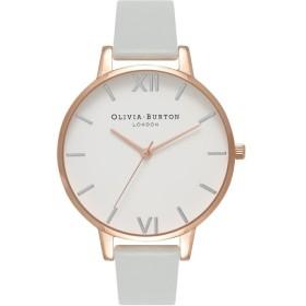 OLIVIA BURTON オリビアバートン Big Dial ビックダイアル OB16BDV02 ホワイト×グレー 腕時計 レディース 即納