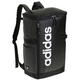 カバンのセレクション アディダス リュック スクエア ボックス型 31L A3 adidas 55483 軽量 撥水 チェストベルト付き 男女兼用 メンズ レディース ユニセックス ブラック フリー 【Bag & Luggage SELECTION】
