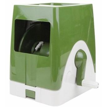 20M巻用カバー付空リール/セフティー3/散水用品/散水ホースリール/olive