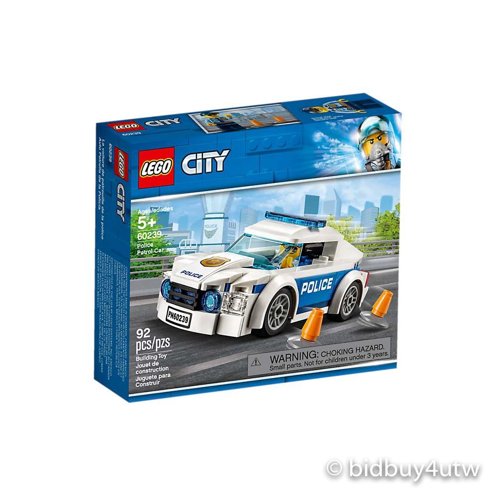 LEGO 60239 警察巡邏車 城鎮系列【必買站】樂高盒組